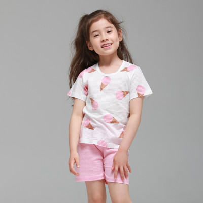 MiNi-K Korean/Short Sleeve/Kids/Junior/Innerwear/House Dresses