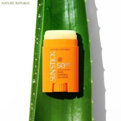 Natural Public 1 + 1 California Aloe Song Sun Stick / Sun Cream / NO Sticky + GIFTS