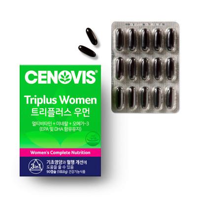 여성 트리플러스우먼 멀티비타민미네랄 90캡슐x2