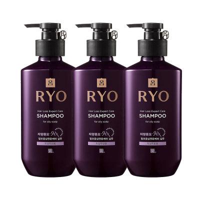 RYO Jayangyunmo Shampoo for Oily Scalp 400ml 3pcs