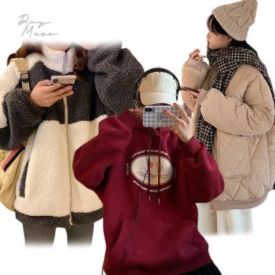 20+15% Day Muse Dress /Fleece/Coat/Padded Jacket/Plus Size/Long