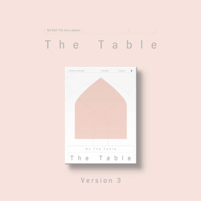 (Select version) NUEST - The 7th Mini Album The Table(Photo card (2 kinds out of 50 kinds random)