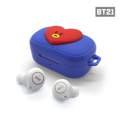 BT21 TWS Bluetooth earphone set (wireless charging supported)