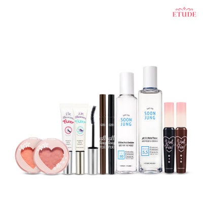 [ETUDE HOUSE] Blossom Edition 1 Day 1 Pack Package KRW 6900 / Mascara n Curl Fixer