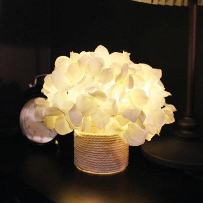 VIA K studio White Hydrangea LED Mood Light