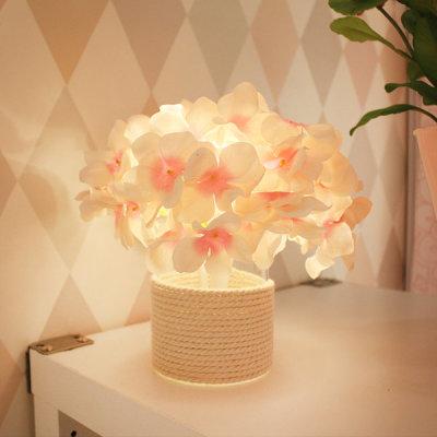 VIA K studio Pink Hydrangea LED Mood Light