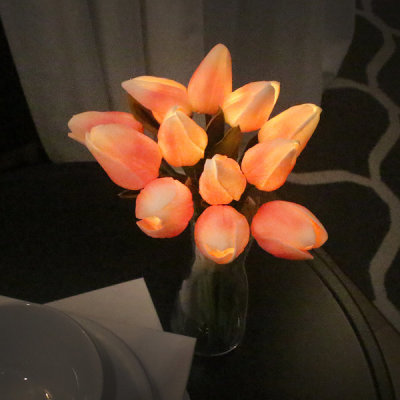 VIA K studio Pink Tulip Bouquet LED Mood Light