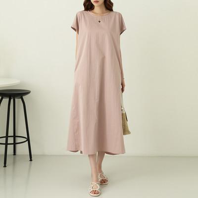 CHICLOOSE Plus Size Long Dress/Homewear/SET