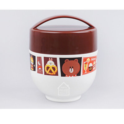 LINE FRIENDS/BRAUN/Cafe/Thermal/Lunch Box/540ml