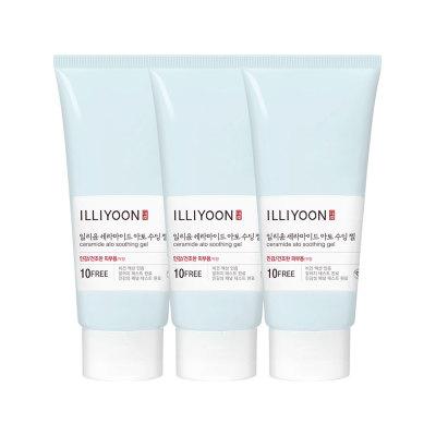 ILLIYOON ceramide ato soothing gel 175ml 3pcs