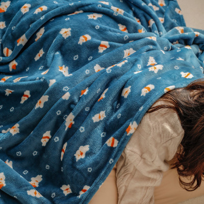 Flannel/SUPERFINE FABRIC THIN BLACKET/Large Size/XL/Lap Blankets