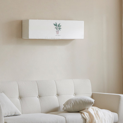 Air conditioning modern emotional wall hanging cover Spandex cover