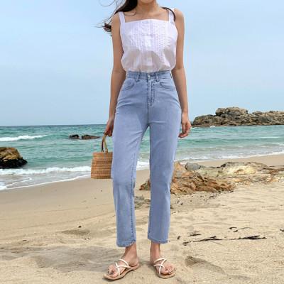 Spring new arrivals special price jeans slacks banded pants plus size ~3XL Big Sale