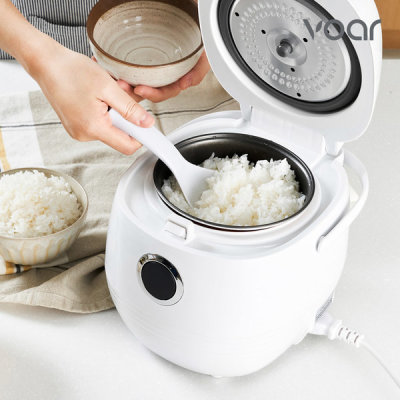 HONYO Electric Rice Cooker Small Mini Baby Food Rice Cooker and Warmer 1~3 Servings