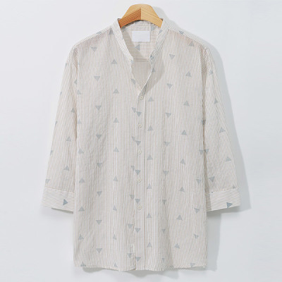 [HooAngs] Summer Shirts Special Price Collection~Linen/Short-sleeve/Elbow Length Shirt