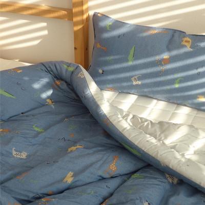 Korean Anti-Bacterial Blanket/NO Allergy/Organic Pure Cotton 100% Thin Padding Blanket