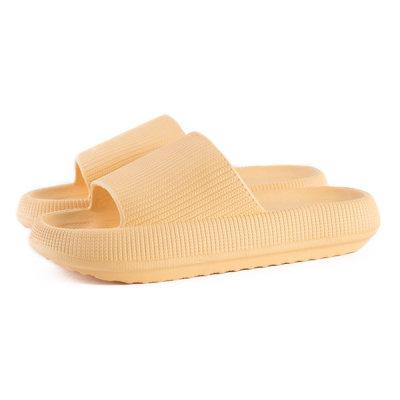Soft Color Indoor Cushioned Slipper 1+1 Livingroom Shoes/Bathroom Shoes