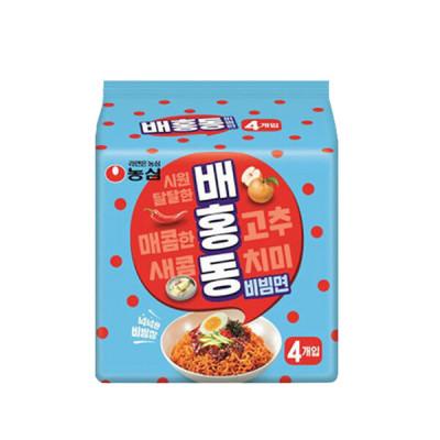 배홍동 비빔면 137g X 4입 5개 (총20개)