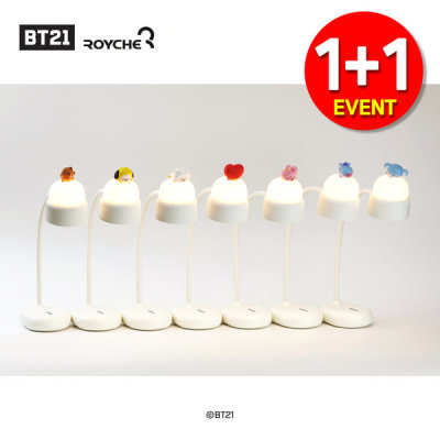 1+1 BT21 BABY Portable Lamp Stand Mood Light