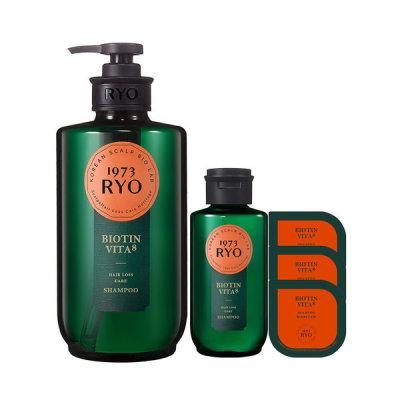 Heritage BIOTIN VITA Shampoo 585ml+Shampoo 180ml+Booster 10ml x 3pcs