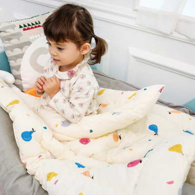 Summer/4-season all-in-one type separable type day care center napping blanket set