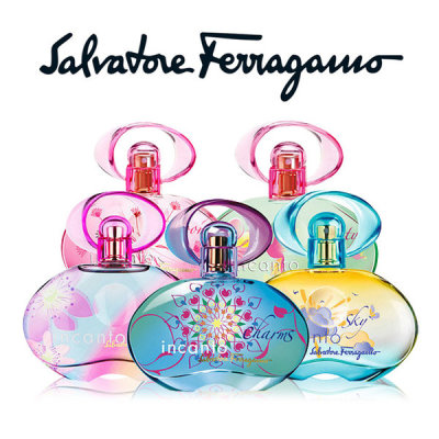 Salvatore Ferragamo Incanto shine / Bloom / Free time / Charms / Lovely flower / EDT / perfume /