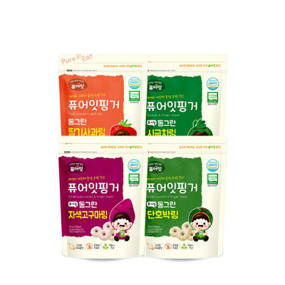 Pure Eat Organic pop rice snack baby snacks 51 kinds