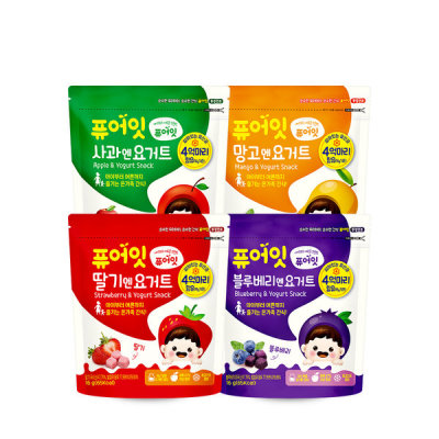 Organic pop rice rice crackers baby snacks 51 kinds 10+2