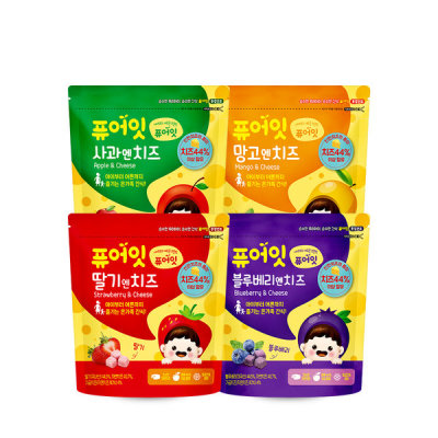 [PURE EAT] Baby`s rice crackers/Organic pop rice 51 kinds 10+2