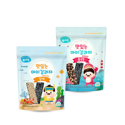 [Pure Eat]10+2 Organic Rice Snack Baby Snacks 51 Kinds