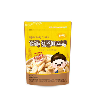 Pure-Eat Organic pop rice rice crackers baby snacks 50 kinds 10+2