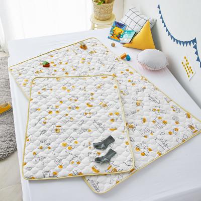 Kids Waterproof Pad Waterproof Mat Pure Cotton Allergy Care Rayon