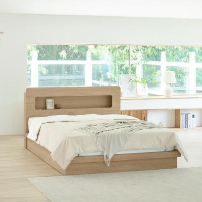 Mattress+Premium PU Head Flat Bed