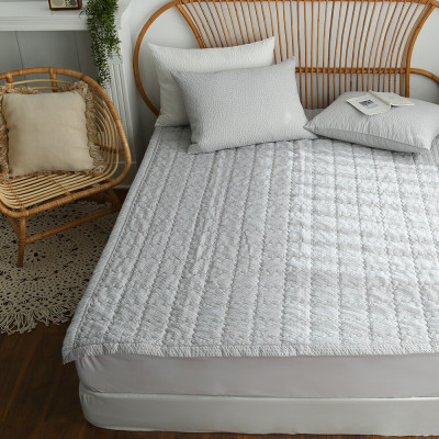 Dust-free Allergy Care Bed Pad/Pure Cotton Bed Pad/Topper