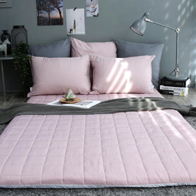 Large size Pure Cotton Quilted Cover/Allergy Care/Semi-micro