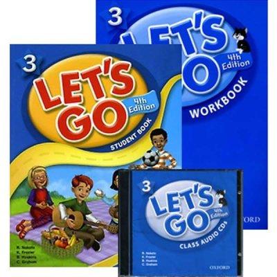 LETS GO Vol. 1~7 / 4th edition / Student book / Workbook / Audio CD / English language /