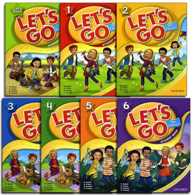 [Oxford] LETS GO: Student book / 4th edition / CD / beginner - level 6 / ESL /