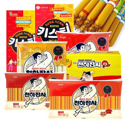(Large capacity) Chunhajangsa 660g 1+1+1 q1000 kisstick sausage