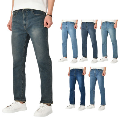Summer New Arrivals Men`s Jean/Plus-size/Cotton Pants/Straight/Spandex
