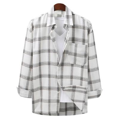 New arrivals shirts/button-down shirt/men/spring coordinated looks/henley neck/linen