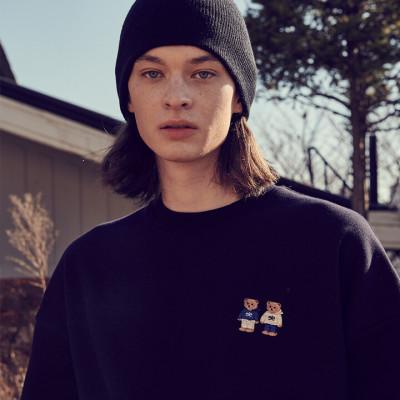 ambler 21FW New Men`s Women`s Over-fit Hoodie/Sweatshirt/T-Shirt
