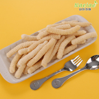 Organic baby snack rice crackers/pop rice special price(extra giveaway event)