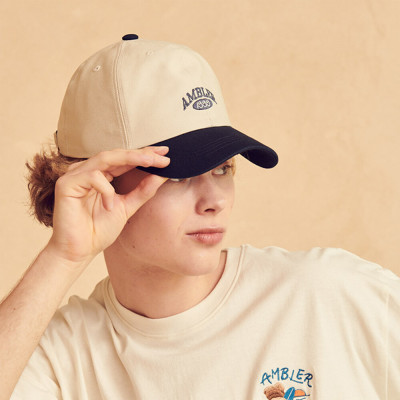 AMBLER Unisex overfit embroidered T-shirt short-sleeve T-shirt ecobag