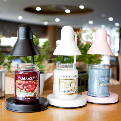 (2 Light Bulbs) Candle Warmer Set MONO Yankee Candle Large and more Pick 1