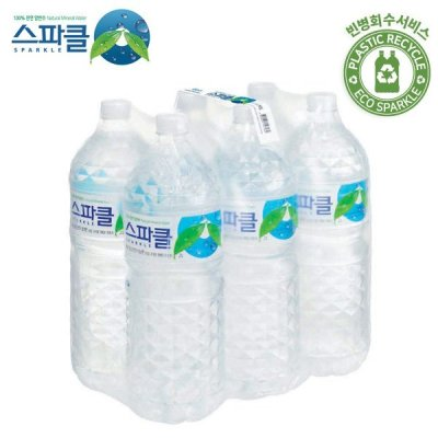 [Water 2L free shipping in Korea/for 1 month] SPARKLE water 2L X 6-total 36/ shipping from agency