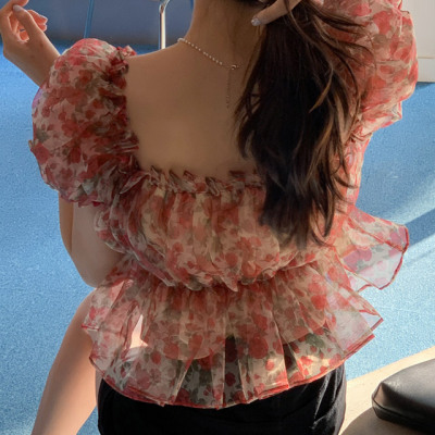 ATTRANGS romantic new blouse/office/interview/wedding guest