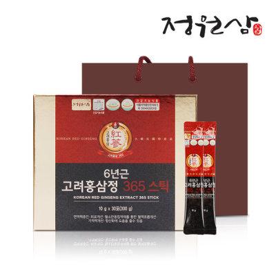 6-Year-Old Korean Red Ginseng 365 stick red ginseng stick 1 box 30 sticks