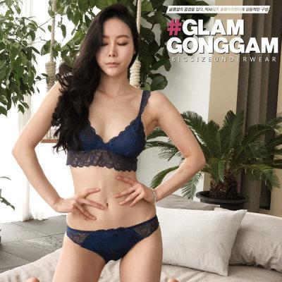 Bra+panty 2-item set flat price KRW 4900 free shipping in Korea