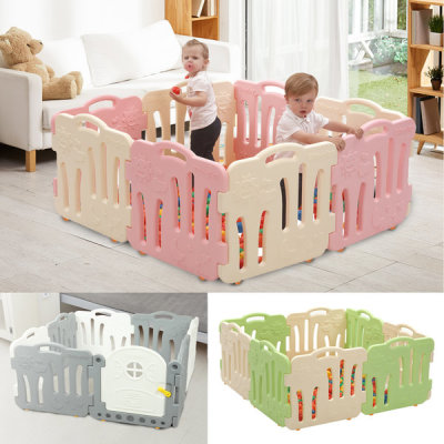 Edu Good baby room self standing fence playhouse baby fences