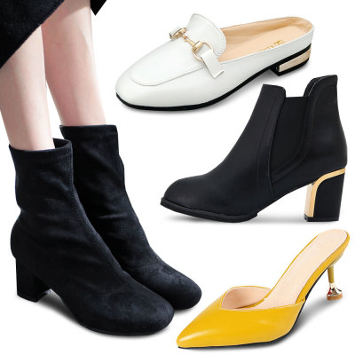 Tic and Toc Women Socks Boots Ankle Boots Chelsea Boots Combat Boots